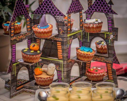 cup cake hallowen