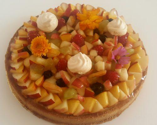 tartes aux fruits frais sans gluten