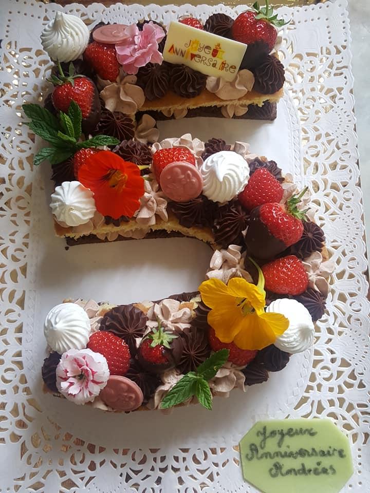 number Cake 5
